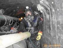 hoto : SET Environnement (Intervention dans les souterrains du chauffage urbain)