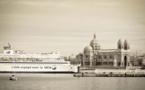 La SNCM laisse ses bateaux au port pour le jour de l'An