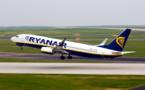 Ryanair doit rembourser 9,6 millions d'euros d'aides publiques